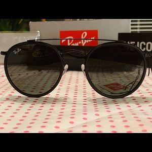 60%off New Ray-Ban Round Double Bridge Sunglasses